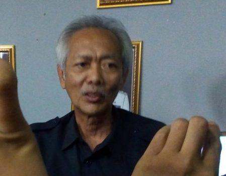 Aliyanto, perwakilan PT TWBP menjawab pertanyaan seputar hasil RDP bersama DPRD Lampung Utara.