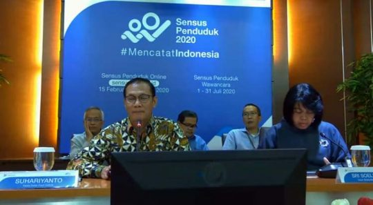 BPS : Pertumbuhan Ekonomi Indonesia 5,02 Persen pada 2019