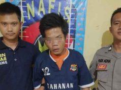 Yahya Saputra (22), tersangka pencurian spesialis mobil pickup ditangkap Tim khusus antibandit (Tekab) 308 Polres Tulangbawang, Rabu (25/2/2020).