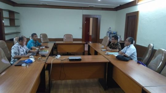 Percepat Geopark Suoh, Bappeda Lampung Barat Kunjungi Badan Geologi ESDM