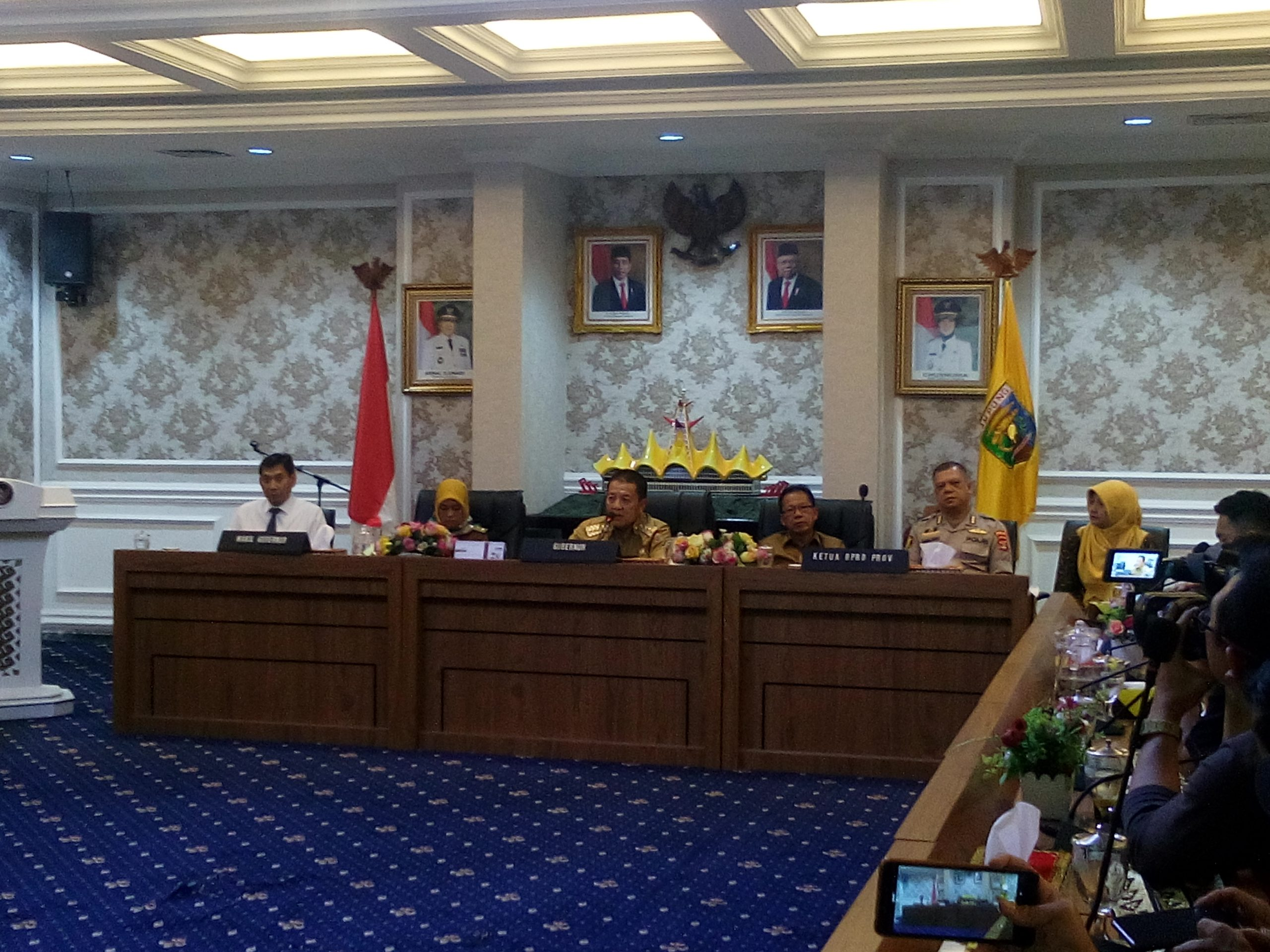 Terkait Virus Corona: ASN Pemprov Lampung tidak Libur, Perayaan HUT Lampung Ditunda