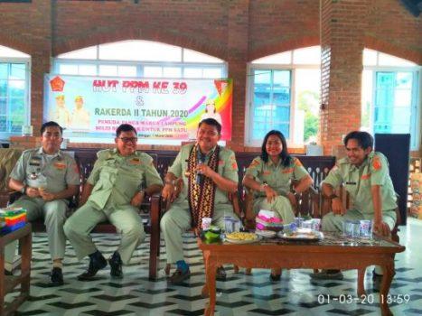 Pemuda Panca Marga Lampung Gelar Rakerda dan Syukuran HUT ke-39