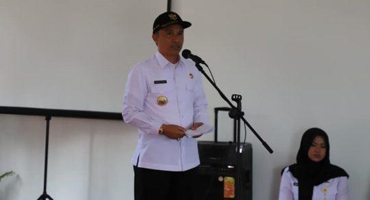 Bupati Parosil Alihkan APBD untuk Tangani Corona di Lampung Barat