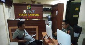 Pimpred Radar Kotabumi, Riduan melaporkan dugaan pencemaran nama baiknya kepada Polda Lampung