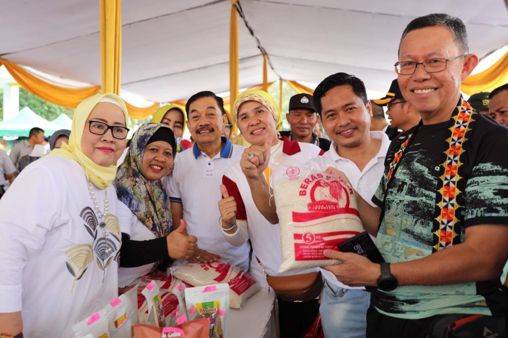 HUT ke-56 Lampung, Pemprov Lampung Gelar Bazar Sembako