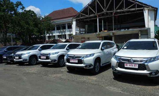 Ini Lima Mobil Pajero Sport untuk Para Pejabat Pemkot Bandarlampung