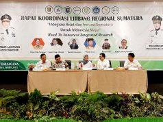 Rakor Litbang Se-Sumatera di Hotel Emersia Bandarlampung, Rabu (11/3/2020).