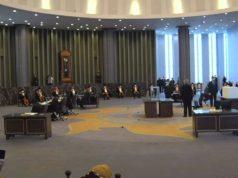 Pemungutan suara pemilihan Ketua MA, Senin siang (6/4/2020).