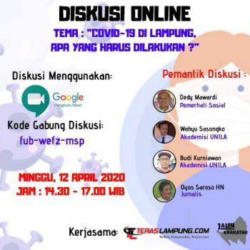 Gugus Tugas Pemprov Lampung Harus Jawab Kebingungan Masyarakat