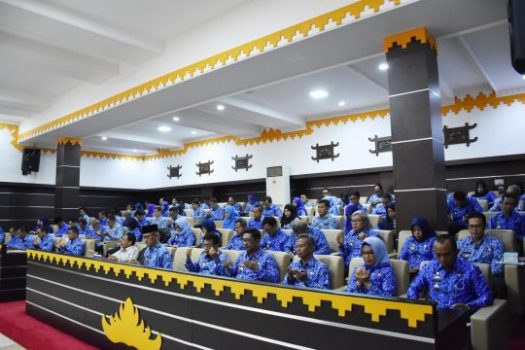 Pemkot Metro Gelar Rapat Forum Gabungan OPD