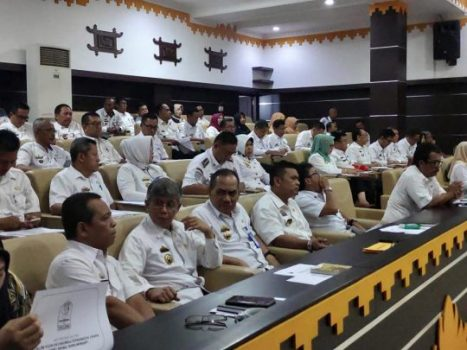 Rakor Pemkot Metro Bahas Penerapan Lapor.go.id