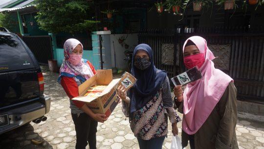 Peringati HUT ke-25, Mitra Bentala Bagikan Masker