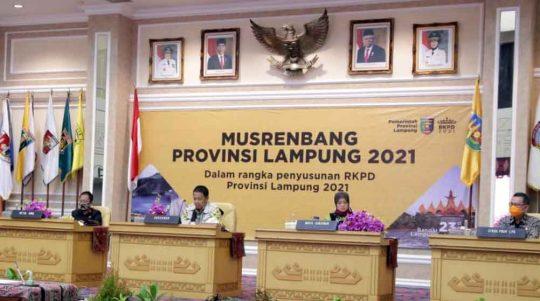 Meski Terdampak Covid-19, Gubernur Arinal Optimistis Ekonomi Lampung Tumbuh 5,1 – 5,5 Persen