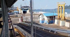 Suasana Pelabuhan Bakauheni pada Rabu (20/5/2020) atau H-4 Idul Fitri. Teraslampung/Zainal Asikin