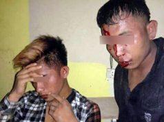 l SW (27) dan IN (22), warga Lampung Timur yang sempat dihajar massa di Desa Karangpucung, Kecamatan Way Sulan, Lampung Selatan (Foto: Ist)