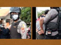 Para pelaku spesialis pencuri sepeda motor saat digelandang ke Mapolres Lampung Utara, Rabu (6/5/2020).