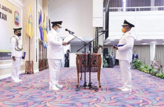 Gubernur Arinal Lantik Nanang Ermanto sebagai Bupati Lampung Selatan Definitif