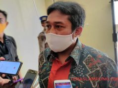 Ketua KPU Kota Bandarlampung Dedy Triadi