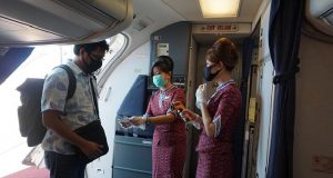 Proses boarding penumpang pesawat Batik Air. Foto: Lion Air Grup