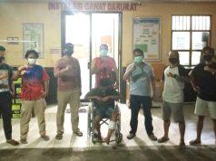 Residivis pencurian, Desan Ozi Ahyari (24), warga Keluarahan Pasar Liwa, Kecamatan Balik Bukit dihadiahi timah panas Tekab 308 Polres Lampung Barat. (Foto: Dok. Humas Polres Lambar).