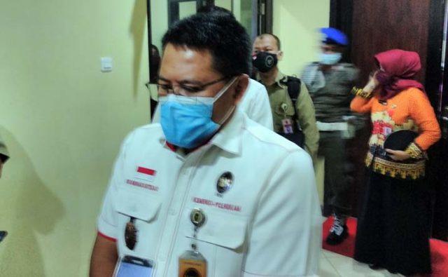Deputi 7 bidang koordinasi komunikasi informasi aparatur (Konminfotur) Kemenko Polhukam, Marsda TNI Rus Nurhadi Sutejo