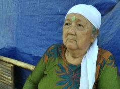 Mbah Sukinten terpaksa harus tinggal di bekas toilet di Desa Hajimena, Natar, Lampung Selatan.