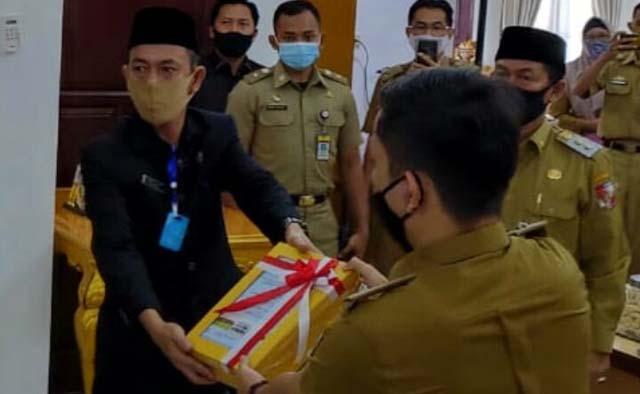Pemkab Lampung Utara Dapat Opini Wajar dengan Pengecualian dari BPK