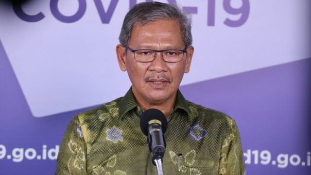 Juru Bicara Pemerintah untuk Penanganan Covid-19 Achmad Yurianto. (Foto: BNPB).