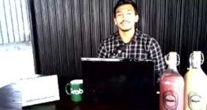 Ketut Anggar Sae Prima (24), wirausahawan kopi di Bandarlampung