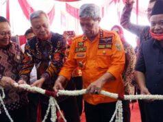 Peresmian kantor Bank Lampung KCP Kalirejo, Lampung Tengah.