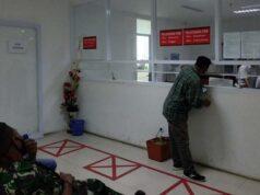 Loket pembayaran PBB di Gedung Satu Atap (Satap) di lingkungan Pemkot Bandarlampung.