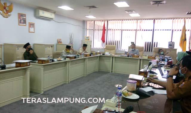 Komisi I DPRD Lampung Gelar Diskusi Penyusunan Raperda Pengakuan Hukum Adat