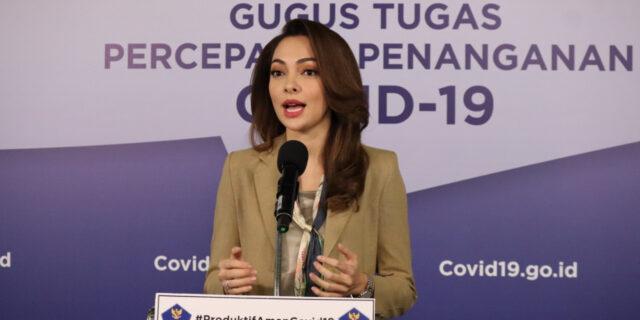 Tim Komunikasi Publik, Gugus Tugas Percepatan Penanganan COVID-19, Dokter Reisa Broto Asmoro
