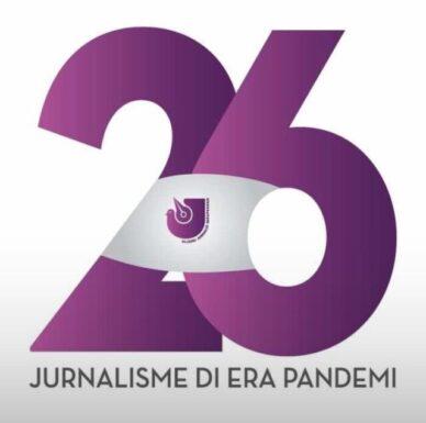 HUT ke-26, AJI Bandarlampung Beri Penghargaan Saidatul Fitriah dan Kamaroeddin 2020