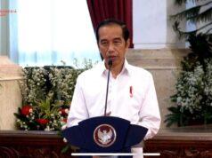 Presiden Jokowi meluncuran program subsidi gaji bagi karyawan berpenghasilan di bawah Rp 5 juta per bulan, di Istana Negara, Kamis (27/8/2020). Foto: Youtube Sekretariat Presiden