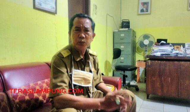 Ketua Forum Lurah Kota Bandarlampung, Rosbandi.