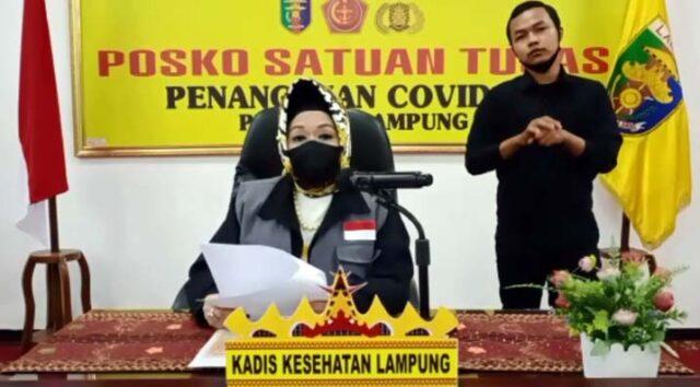 Juru bicara Satuan Tugas Penanganan Covid-19 Lampung, Reihana
