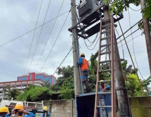 Kabel PLN di Telukbetung Utara Dicuri, Alat Elektronik Ratusan Pelanggan Rusak