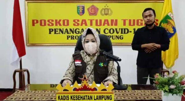 Juru Bicara TGTPP Covid-19 Provinsi Lampung, Reihana
