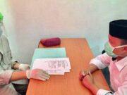 Cawabup Lampung Selatan, Antoni Imam saat menjalani pemeriksaan kesehatan tes psikologi susulan di Rumah Sakit Jiwa (RSJ) Lampung, Sabtu (19/9/2020). (Foto : Dok. Humas RSJ Lampung)