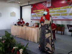 Eva Dwiana mengajukan permohonan cuti sementara sebagai Ketua KONI Kota Bandarlampung.