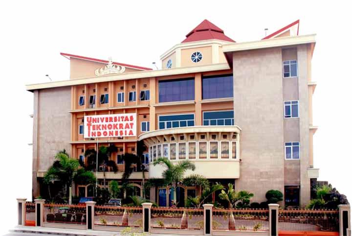 Gedung A Universitas Teknokrat Indonesia