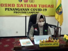 Kepala Dinas Kesehatan Lampung dan Juru Bicara Satgas Covid-19 Lampung, Reihana