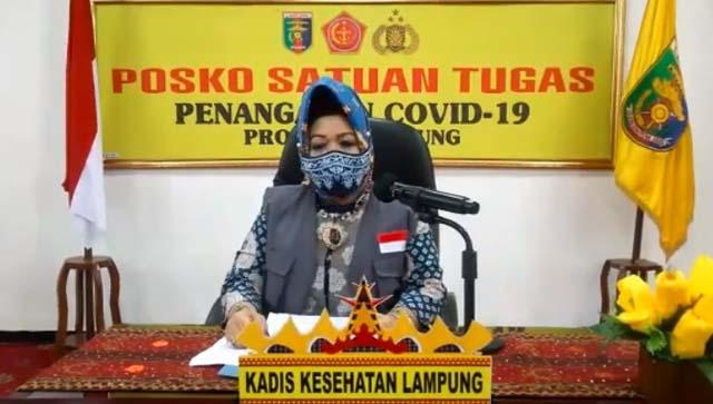 Ini Riwayat dan Data 44 Pasien Baru Covid-19 di Lampung