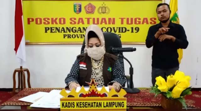 Satu Pasien Covid-19 di Lampung Meninggal Dunia, Ini Riwayatnya
