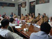Suasana rapat antara TAPD Lampung Utara bersama Panja Banang DPRD Lampung Utara terkait RAPBD Perubahan 2020.