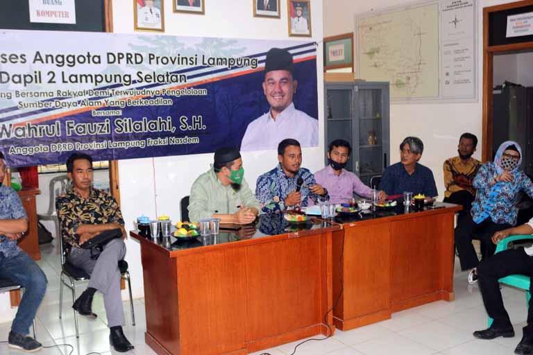 Komisi II DPRD Lampung Minta Pemprov Perhatikan Kesejahteraan Para Rimbawan