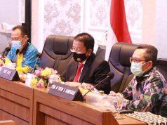Gubernur Lampung Arinal Djunaidi memimpin rapat persiapan peluncuran program Kartu Petani Berjaya, Jumat (2/10/2020).