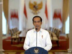 Presiden Jokowi menjelaskan tentang substansi UU Cipta Kerja di Istana Bogor, Jumat (9/10/2020). Foto: Youtube Sektetariat Presiden