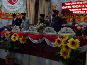 Juru bica FPAN DPRD Lampung Utara, Netti Hastuti menyampaikan pandangan umum Fraksi PAN, Kamis (1/10/2020).
